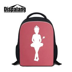 db97eceaeec5 Dispalang Cute Kids Mini School Bags Dancing Ballet Girl Children Book Bags  Preschool Kindergarten Backpack Toddler Shoulder Bag