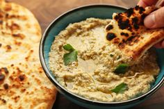 The best baba ganoush - Serious Eats - - - rich, smoky, and creamy, our recipe for baba ganoush uses the salad spinner to concentrate flavor and a slow emulsion method for the ultimate in dippable texture. Serious Eats, Best Baba Ganoush Recipe, Vegan Recipes, Cooking Recipes, Vegan Snacks, Dip Recipes, Snack Recipes, Food Lab, Food Porn