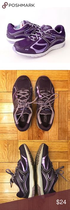 Ryka Purple Women's Sneakers Ryka Crusade running sneakers in fun purple color.  Some wear near laces (see photos) but the soles are in good shape.  Open to all offers. Ryka Shoes Sneakers