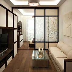16 Ideas For Bedroom Modern Design Small Studio Apartments Studio Apartment Design, Small Studio Apartments, Small Apartment Interior, Small Apartment Design, Condo Design, Modern Home Interior Design, Studio Apartment Decorating, Modern Bedroom Design, Studio Type Condo