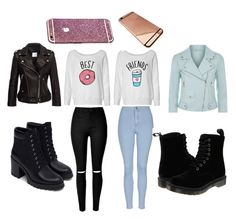 """""""Best Friends"""" by chanelikoli on Polyvore featuring Topshop, Rebecca Minkoff, Zara and Dr. Martens"""