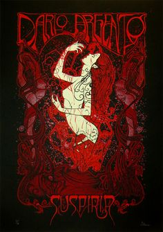 Suspiria Poster by Malleus  (Onsale Info)