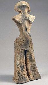 Statuette Dogu de la culture Jomon (Japon) Plus d'informations ici http://www.histoiredelantiquite.net/archeologie-japonaise/dogu-de-la-culture-jomon/