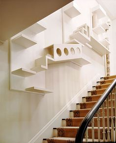 Goin' stair crazy. Cat house ideas - please don't have me committed. ;-)