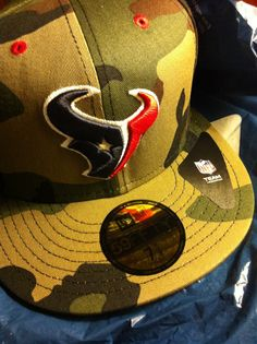 0ff0cce3b New Era - fitted  Houston Texans  Camo August 2013