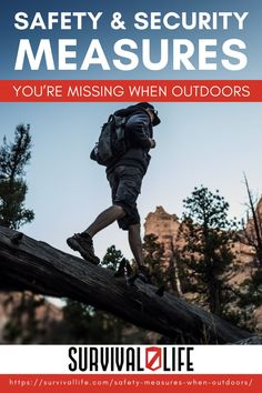 What are the things you need to do and be reminded of when your out in the wild? How can you prevent the mishaps and accidents that could occur? So read on to find out more about the safety and security measures that you need to keep in mind. #survivallife #survival #preparedness #survivalist #prepper #camping #outdoors #spring #outdoorsurvival #outdoorsafetyandsecurity #outdoorsafetytips Survival Life, Survival Prepping, Camping Outdoors, Outdoor Camping, Safety Topics, Doomsday Prepping, Disaster Preparedness, Safety And Security, Outdoor Survival