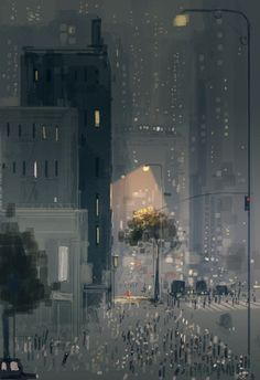 Strangers in the city #pascalcampion #thanksgiving