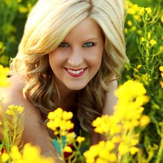 Canola fields are perfect for Spring sessions