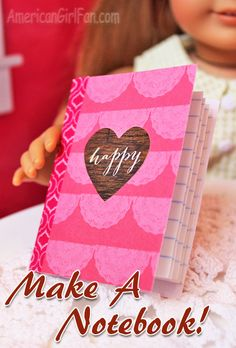 Make a notebook for your dolls