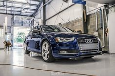 Time to help this beautiful blue Audi S4 stay shining with an Enthusiast Detail!