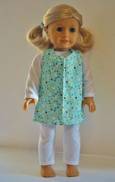 18 Inch American Girl Doll Clothes 3 Piece Set by littleashleighs, $11.00