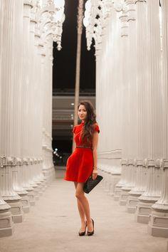 Little Red Dress :: Lush velvet