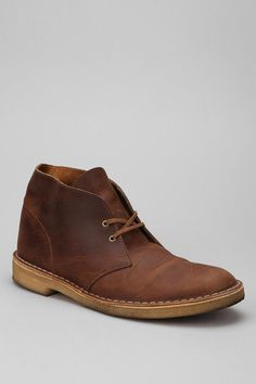 """Clarks Desert Beeswax Boot -- """"The best part is the more you wear is the better it looks."""""""
