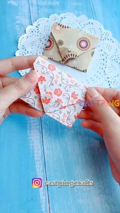 Cool Paper Crafts, Paper Crafts Origami, Diy Crafts For Gifts, Easy Diy Crafts, Creative Crafts, Decor Crafts, Arts And Crafts For Teens, Art And Craft Videos, Crafts For Kids