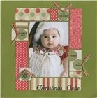 Christmas Cutie...love the circles with journaling.