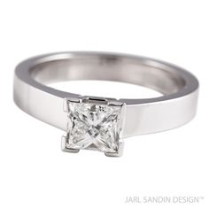 Jarl Sandin Design Dream diamantring princesslipning vigselring