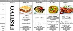 Menú Principal del 2 al 6 de Junio de 2014