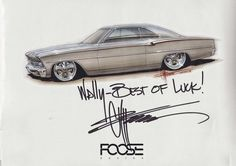 Chip Foose Drawings | Chip.FOOSE-Poster.Signed | Flickr - Photo Sharing!: