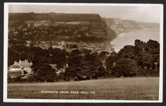 SIDMOUTH. From Peak Hill. 1937. - Click Image to Close