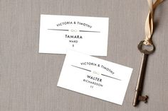 We are Infinite Place Cards by Katrina Gem Paray at minted.com