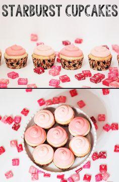 Starburst Cupcakes