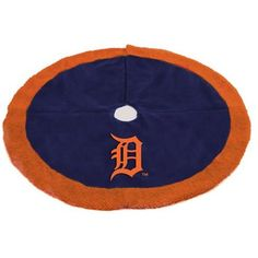 Detroit Tigers Tree Skirt