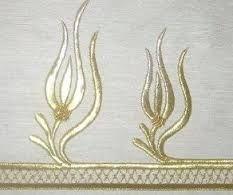 maraş işi - بحث Google Gold Embroidery, Embroidery Needles, Point Lace, Gold Work, Ribbon Work, Border Design, Cutwork, Needlepoint, Needlework