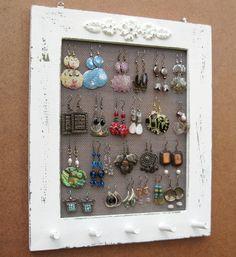 Jewelry Organizer Jewelry Display Jewelry Storage Window