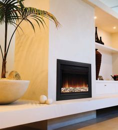 Wall Mounted Fires | Whitwell 511-r Hole In The Wall Electric Fire From Burley | Direct Fireplaces