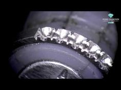 Klever Ruiz (french cut) Stone Setting - YouTube