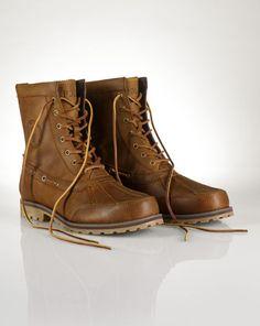 Leather Whitsand Boot - Polo Ralph Lauren Boots - RalphLauren.com