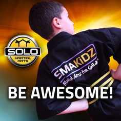 Be Awesome! Martial art training destined for children in Gosforth Newcastle #SMAKIDZ