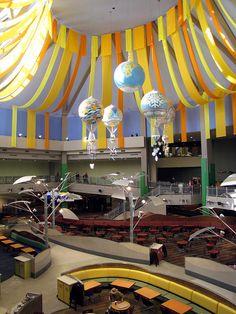The Land Pavilion - EPCOT Centre. My fav hanging sculpture