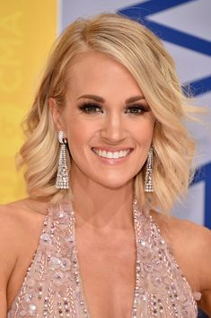 Singer-songwriter Carrie Underwood attends the 50th annual CMA Awards at the Bridgestone Arena on November 2, 2016 in Nashville, Tennessee.