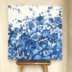 Oil painting Flowers art dafen village website purple flower painting square canvas wall art canvas art online - Hobbies paining body for kids and adult Flower Canvas Art, Flower Art, Canvas Wall Art, Painting & Drawing, Watercolor Paintings, Painting Walls, Art Painting Flowers, Paint Flowers, Painting Inspiration