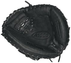 Wilson A1000 1791 Catcher's Right Hand Throw Baseball Mitt (32.5-Inch) by Wilson. $63.55. The A1000 Superskin series gloves from Wilson feature exclusive Ecco leather, engineered to specifically to provide softness on the first day of ownership and durability for years to come. The Pro Stock patterns give the A1000 an indescribable feel and shape. The Ecco leather, Sorbothane palm pad and Superskin take it over the top. Superskin is twice as strong as cowhide leather and half the...