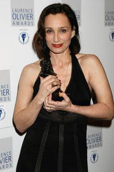 Kristin Scott Thomas Photos - The Laurence Olivier Awards: Press Room - Zimbio