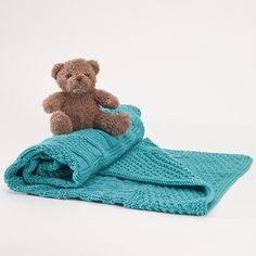 This has got to be one of the most popular. Combinations of knit and purl stitch.