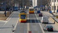 Revolutionised public transport with dedicated bus-tram-lane in Warsaw. Poland   Eltis
