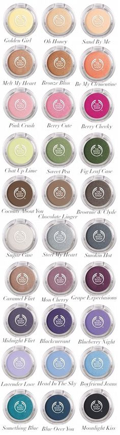 The Body Shop - Colour Crush Eyeshadows
