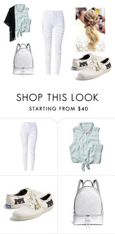 """Outfits for school"" by annisyaar on Polyvore featuring WithChic, Abercrombie & Fitch, Keds and Michael Kors"