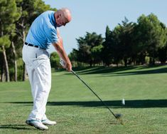 How To Hit Every Club In The Bag - Different clubs and shots require a different set-up and approach. Here are the basics from driver right down to putter Types Of Shots, Golf Instructors, Chipping Tips, Golf Tips, Club, Bags, Golf Trainers, Handbags, Bag