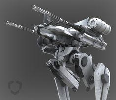 Meteor Defense Mecha - MANTIS