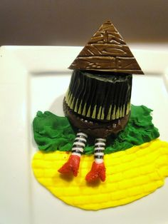 Wicked Witch of the East Cupcake