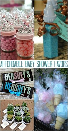Affordable baby shower favors your guests will adore. Looking for some Budget Loving Baby Shower Favors ? fun to craft n create for. You just can't help but see all the great ideas and getting your craft on. Idee Baby Shower, Mesas Para Baby Shower, Baby Shower Snacks, Baby Boy Shower, Elephant Baby Shower Favors, Budget Baby Shower, Baby Shower Favours For Guests, Baby Shower Party Favors, Baby Shower Parties