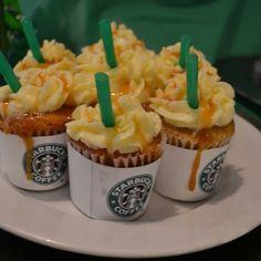 Starbucks caramel cupcakes