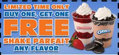 White Castle: BOGO FREE Shake Parfait Coupon on http://hunt4freebies.com/coupons
