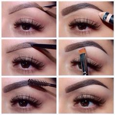 DIY how to get the perfect eyebrows