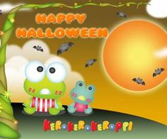 Keroppi Halloween Cell phone wallpaper from ZEDGE website or app.