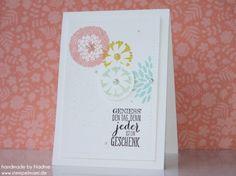 Grusskarte Stampin Up Karte Greeting Card 098
